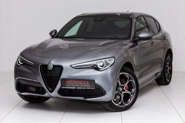 Alfa Romeo Stelvio MY20 2.0 280 PS AT8 Q4 Veloce bei Auto Meisinger in