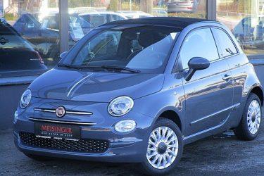 Fiat 500C 1,2 Fire 70 Lounge bei Auto Meisinger in