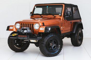 Jeep Wrangler 4,0 Sport Hard Top Aut. bei Auto Meisinger in