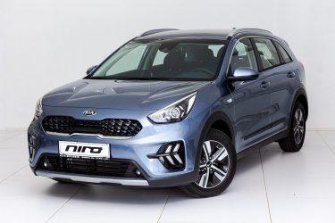 KIA Niro 1,6 GDI Hybrid Silber bei Auto Meisinger in
