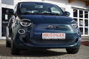 Fiat 500e Elektro La Prima bei Auto Meisinger in