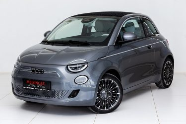 Fiat 500C Elektro La Prima bei Auto Meisinger in