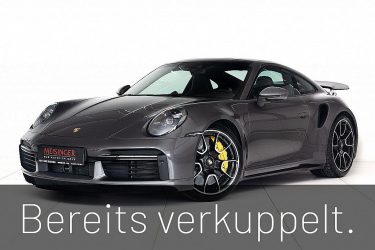 Porsche 911 Turbo S Coupe PDK bei Auto Meisinger in