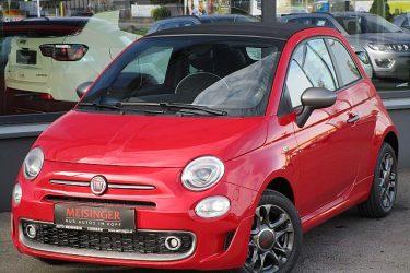 Fiat 500C FireFly Hybrid 70 Sport bei Auto Meisinger in