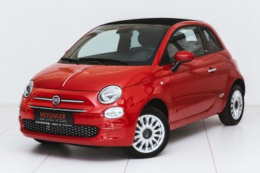 Fiat 500C 1,2 Fire 70 Lounge Dualogic Aut. bei Auto Meisinger in