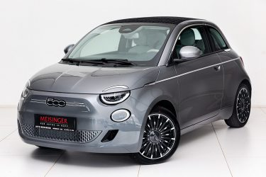 Fiat 500C Elektro La Prima 42 kWh bei Auto Meisinger in