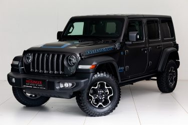 Jeep Wrangler PHEV Unlimited Rubicon bei Auto Meisinger in