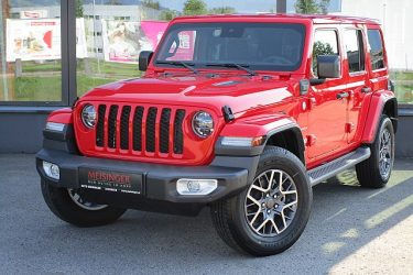 Jeep Wrangler PHEV Unlimited Sahara bei Auto Meisinger in